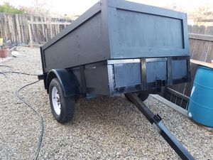 4x8 lift utility trailer title in hand for Sale in Santa Fe, NM