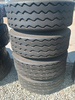 Tractor tires price $300 set used in good condition for Sale in Santa Ana,  CA