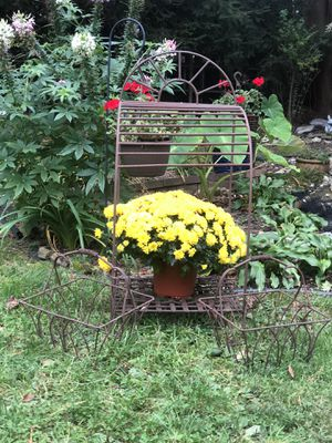 Farmhouse chic wire rack and 2 baskets for Sale in Nutley, NJ
