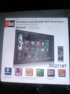 Brand-new touch screen CD/DVD Bluetooth player for car for Sale in Knoxville, TN