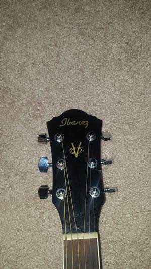 Acoustic/Electric Ibanez Black Guitar for Sale in Vista, CA