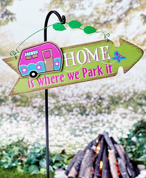***Camper sign Home is where we park it**** for Sale in Chester, VA