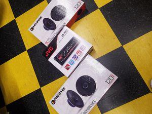 Radio & door speaker package for Sale in Oakland, CA