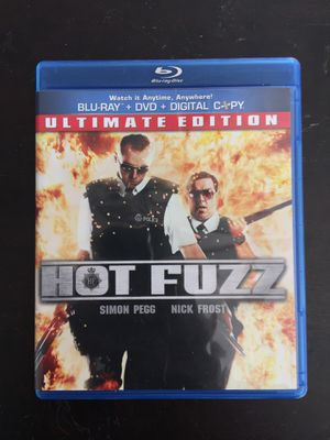 Hot Fuzz Blu-Ray and DVD Ultimate Edition for Sale in Los Angeles, CA