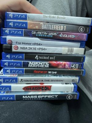 Ps4 games for Sale in Seaford, DE