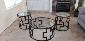 Ashley furniture coffee table set for Sale in Lathrop, CA