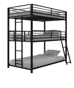 Triple Bunk Bed Brand New In Box for Sale in Georgetown,  TX