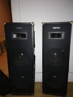 2 way speakers for Sale in Pittsburgh, PA