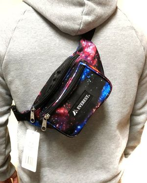 Brand NEW! Galaxy/Space/Universe Waist/Crossbody/Shoulder/Side Bag/Fanny Pack/Pouch For Sports/Gym/Stagecoach/Coachella/EDC/outdoors/Summer $10 for Sale in Carson, CA