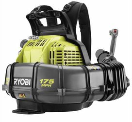RYOBI 175 MPH 760 CFM 38cc Gas Backpack Leaf Blower for Sale in Los Angeles,  CA