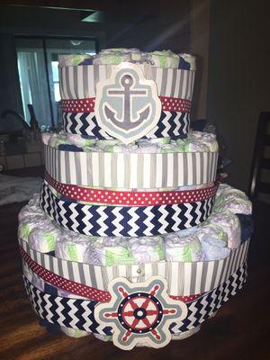 Diaper cake for Sale in Auburndale, FL