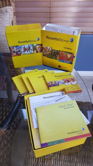 Rosetta Stone Spanish for Sale in US