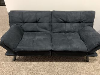 Black microfiber futon for Sale in Syracuse,  UT