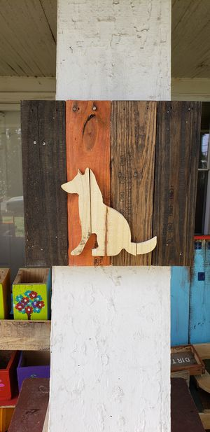 Pallet Board Wall Decor, Dog Decor, Dog for Sale in Liberty, SC