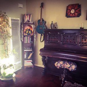 Antique J & C Fischer Upright Grand Piano ~ Late 1800s' for Sale in San Luis Obispo, CA