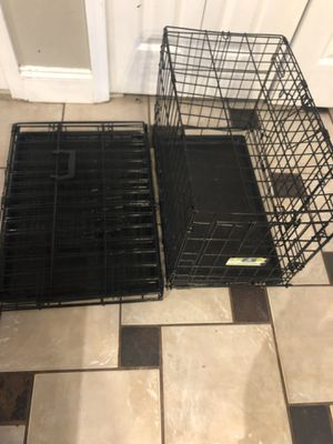 Small dog kennel one is brand new the other used for Sale in Riverview, FL