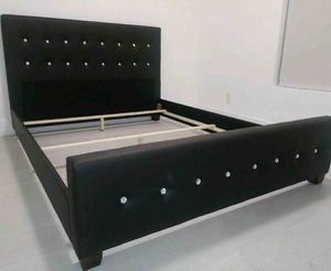 $275 Queen bed frame brand new free delivery same day for Sale in Hollywood, FL
