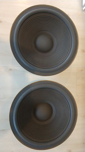 """15"""" Woofers Subwoofers from Realistic Mach Two Speakers for Sale in Weirton, WV"""