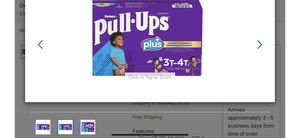 Huggies PullUps for boy new in box for Sale in La Habra Heights, CA