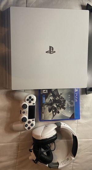 Glacier White 1TB PS4 Pro Bundle for Sale in Las Vegas, NV