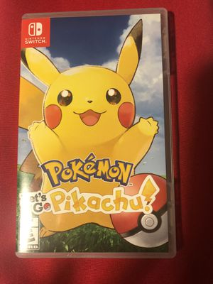 Pokémon Pikachu for Nintendo Switch for Sale in Phoenix, AZ