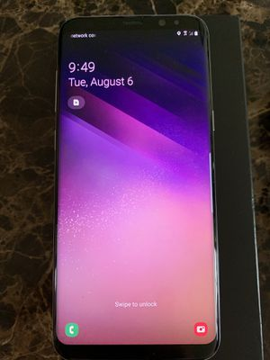 Samsung Galaxy S8 + 64 GB Verizon Phone - Excellent Condition for Sale in Suffern, NY
