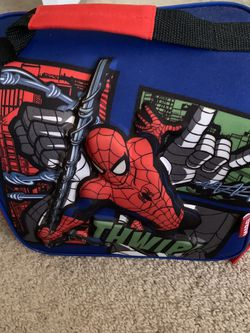 Spiderman Lunch Box W/ Shoulder Strap for Sale in Colorado Springs,  CO