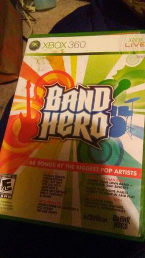 Xbox 360 game Band hero for Sale in Madera, CA