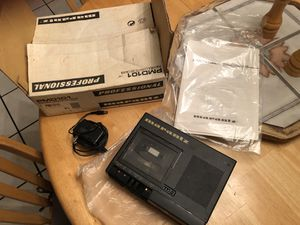 Marantz cassette player for Sale in Fremont, CA