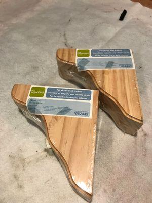 Pine shelf brackets for Sale in Chicago, IL