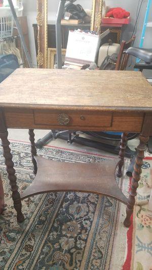 Barley twist antique desk for Sale in El Cajon, CA