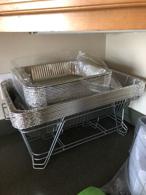Chafing pans and racks for Sale in Springfield, VA