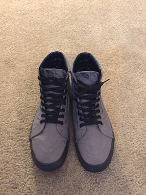 Gray high-top vans size 13 for Sale in Midland, MI