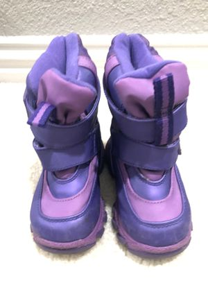 Snow boots, toddler girl for Sale in Frisco, TX