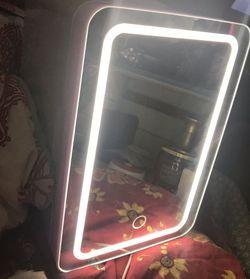 LED LIGHTED MINI FRIDGE for Sale in Canyon Lake,  TX