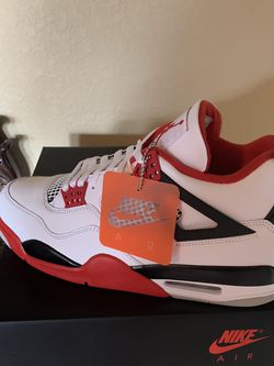 """NIKE AIR JORDAN 4 RETRO OG, (FIRE RED) 100% AUTHENTIC WITH RECEIPT, """"NO TRADES OR SWAPS"""" $300, SIZE 11 for Sale in Spring,  TX"""