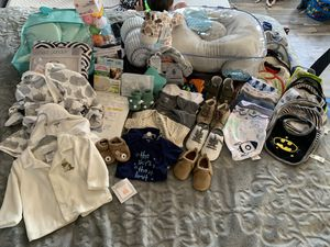 All NEW Baby boy clothing and supplies. $100 for all or best offer. for Sale in Pueblo, CO