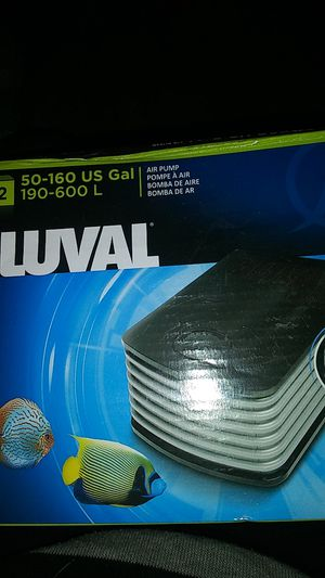 Fluval air pump for Sale in Pittsburg, CA