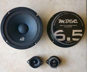 Massive speakers Mid Range MB6C sistem audio car for Sale in Orlando, FL