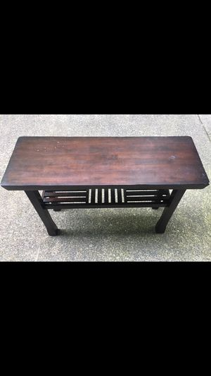Matching console table and coffee table for Sale in Portland, OR