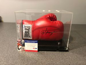 Joe Frazier Autographed Everlast Glove. PSA Aunthenticated With Display Case for Sale in Normal, IL