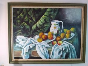 Large oil on canvas Painting for Sale in North Bethesda, MD