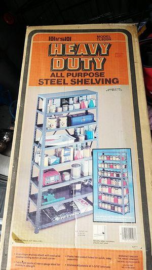 Heavy Duty all purpose steel shelving for Sale in Modesto, CA