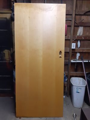 2 doors forsale the first one has a water spot on it but can probably be sanded out. The second is a fire door will take $100 for both obo for Sale in New Canton, VA