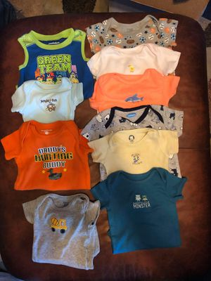 Boys onesies 6-9 months for Sale in Baltimore, MD