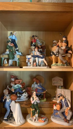 The Norman Rockwell Figurines for Sale in Wood Dale, IL