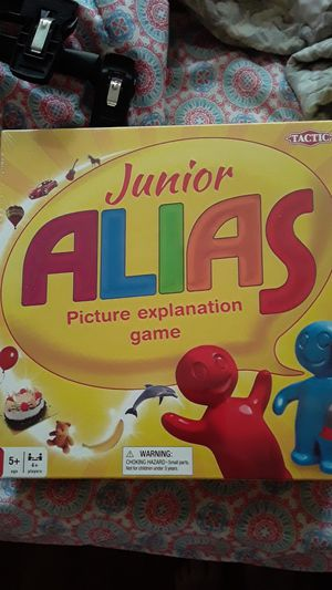 Family fun game night junior alias kids card guessing game for Sale in Philadelphia, PA