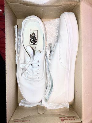 Vans Shoes - White for Sale in Atlanta, GA