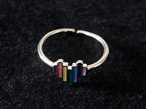 Sterling Silver Multicolor Heart Ring for Sale in Las Vegas, NV