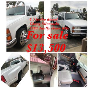 93 Chevy dually diesel! ( trade plus cash! ) for Sale in Irwindale, CA